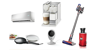 מגוון מוצרי חשמל